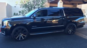 Our 2015 Denali SUV is a great alternative to Uber here in Phoenix