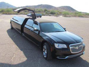 Chrysler 300 limo in Phoenix, Arizona 3
