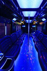 Party Bus in Pheonix, AZ - interior 1