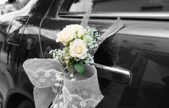 Wedding Limo Decorations in Phoenix