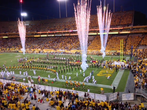 ASU Football Game transfer and transportation