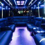 Phoenix Party Bus interior 2