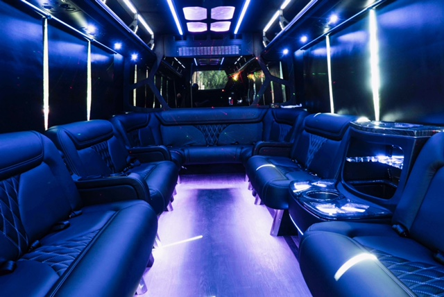 Phoenix Party Bus interior 2