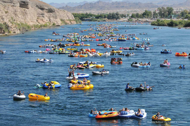 Salt River floating transportation