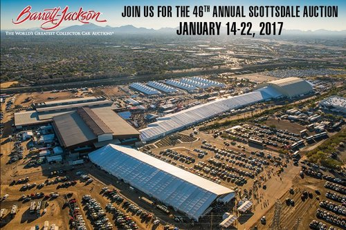 barrett jackson annual scottsdale auction chauffeur service top notch transportation. Black Bedroom Furniture Sets. Home Design Ideas