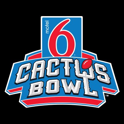 Motel 6 Cactus Bowl logo - Game Day Transportation Service Provider