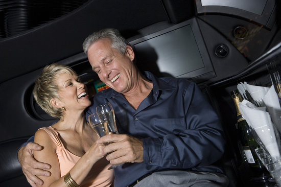 Anniversary Night on the Town limousine chauffeur service