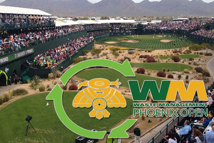 Waste Management Phoenix Open car and transportation service