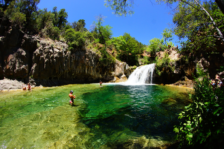 Bull Pen - Camp Verde - one of the best swimming spots in Arizona