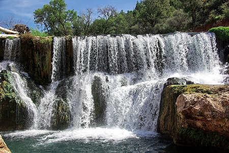 Fossil Creek - Camp Verde - one of the best swimming spots in Arizona