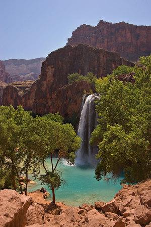 Havasu Falls - swimming holes in Arizona