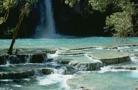 Havasu Falls - best swimming spots in Arizona