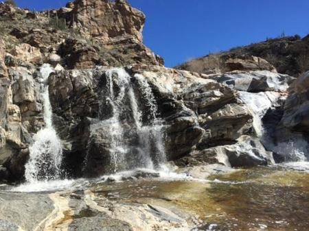 Tanque Verde Falls - Tucson - best swimming holes in Arizona