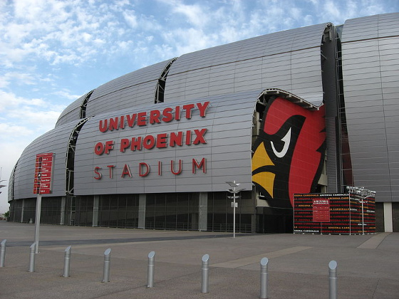 University of Phoenix Cardinals' stadium - Limo, SUV and Chauffeur service