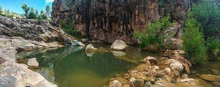Waterwheel Falls - swimming spots in Arizona