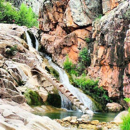 Waterwheel Falls - swimming holes in Arizona