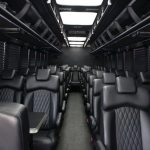 charter bus rental phoenix interior