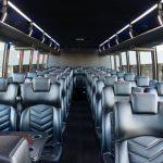 charter bus scottsdale az interior