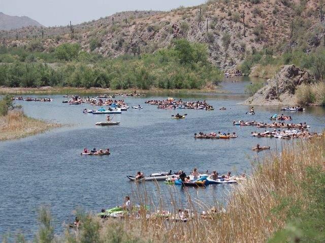 Salt River Tubing transportation Phoenix Mesa Scottsdale