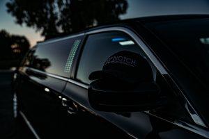 Black Stretch Limousine Phoenix - passenger side