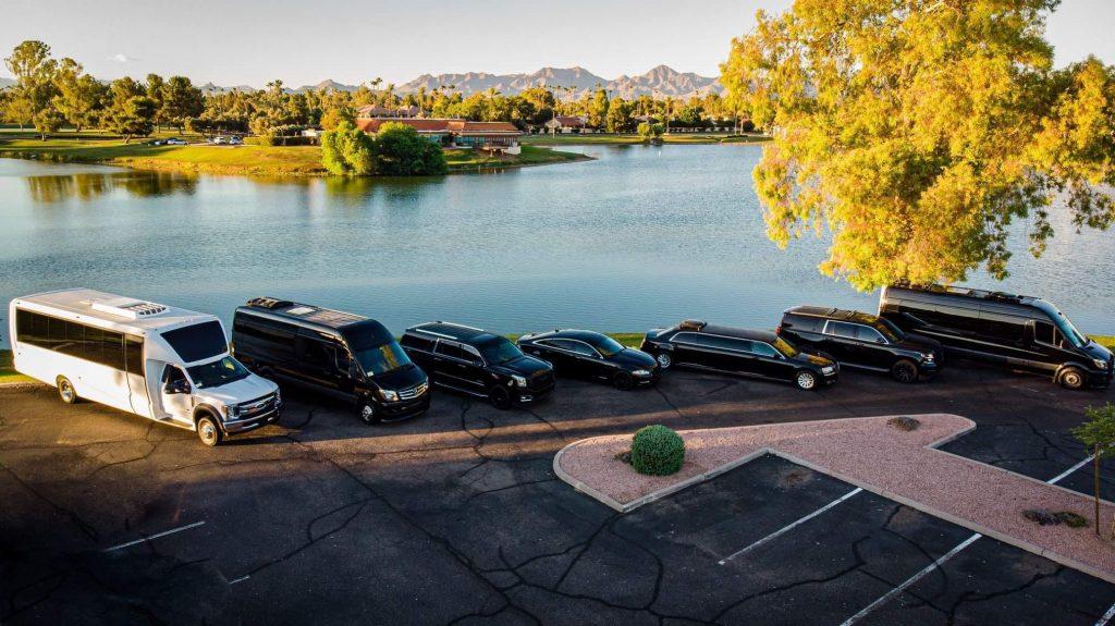 Top Notch Transportation vehicles - Phoenix limousine chauffeur service