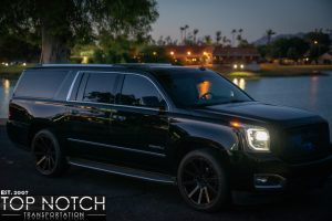 Phoenix black Car Service - Denali SUV