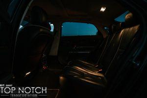 Phoenix Chauffeur Service - Jaguar interior