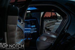 limousine phoenix limo interior 2 logo