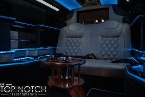 limousine phoenix limo interior 5 logo