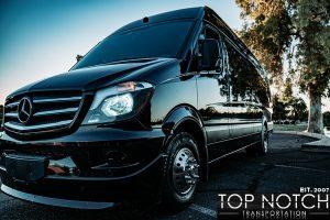 Phoenix Limousine Group Transportation - Sprinter front