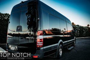 Scottsdale Phoenix Limousine Group Transportation - Sprinter rear