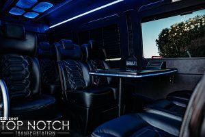 Scottsdale Group Transportation - Mini Coach interior