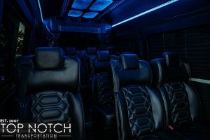 limousine phoenix sprinter 1 interior 3 logo