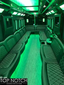 2019 Party Bus Phoenix and Scottsdale interior - 34 passenger 5