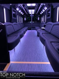 2019 Party Bus Phoenix and Scottsdale interior - 34 passenger 4