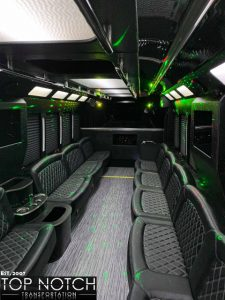 2019 Party Bus Phoenix and Scottsdale interior - 34 passenger 2