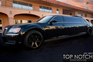 Chrysler 300 Stretch Limo new rims