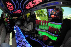 Phoenix Cadillac Escalade Limo interior 2