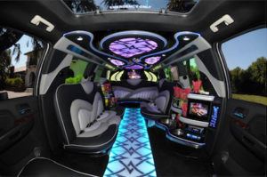 Phoenix Cadillac Escalade Limo interior 1